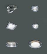 Точеченые встраиваемые светильники