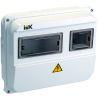 Корпус пластиковый ЩУРн-П 1/3 IP55 ИЭК MSP103-1-55